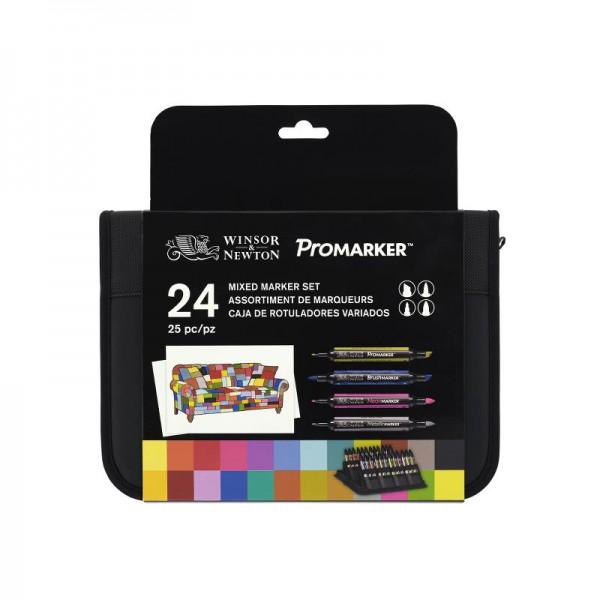 WN Promarker 24 Set - Mixed Marker Set