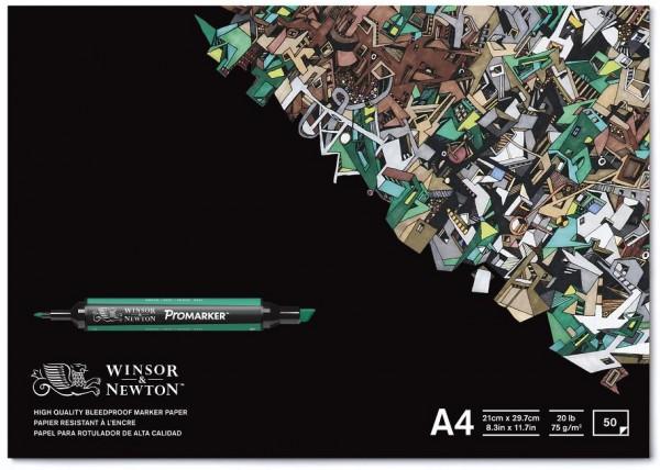 Markerblock A4 Promarker Winsor & Newton marker papier